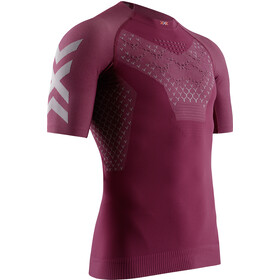 X-Bionic Twyce G2 Run Shirt SS Herrer, namib red/dolomite grey